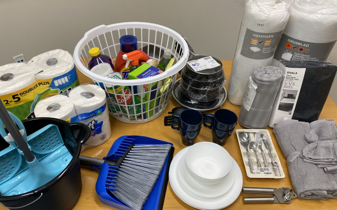Rapid Rehousing Team Needs Welcome Home Baskets